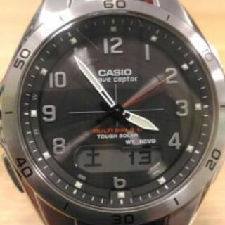 CASIO電波ソーラー時計