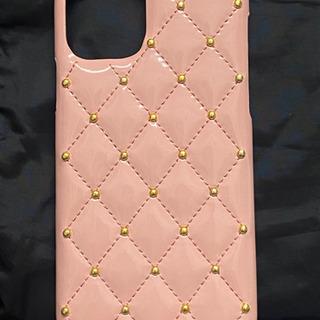 新品 iPhone11Pro ケース エナメル ピンク