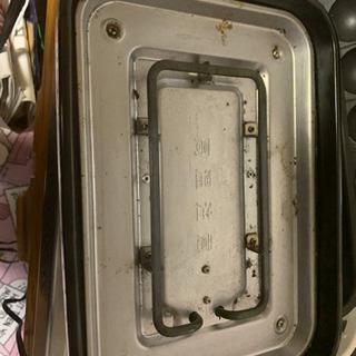 2way 電熱ホットプレート&たこ焼きグリル\値下げしまし…