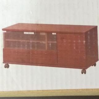 未使用組立式テレビボード  幅89cm  小部屋向き ニトリ