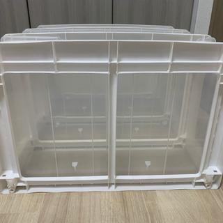 【お譲りします】3段衣類ボックス - 家具