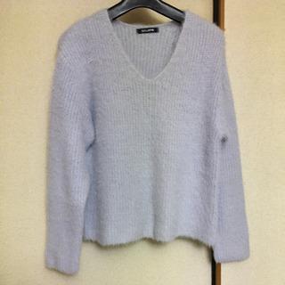 レディースセーター薄水色