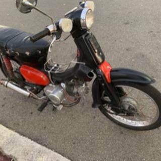 スーパーカブ カスタム 125ccの4速に載せ替え 改造多数 公認