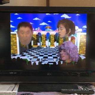 メーカー不明32インチ液晶テレビ