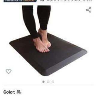 【新品未使用】スタンディングデスクマット