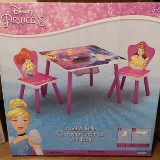 【値下げしました!】ディズニー デルタ プリンセス 小物付テーブ...