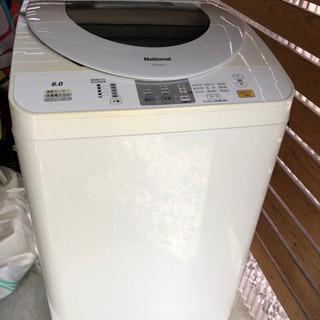 【中古】松下電器 6.0キロ 洗濯機 - 米子市