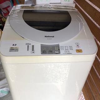 【中古】松下電器 6.0キロ 洗濯機