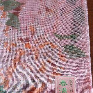 桜の柄のハンカチ(未使用)