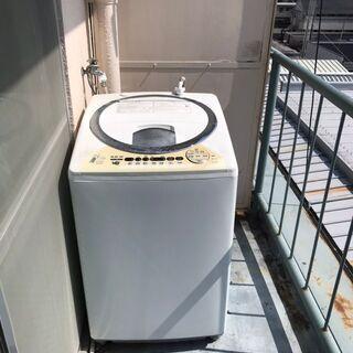 【受け渡し予定済】洗濯機無料 日立NW-D8CX