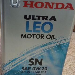 ホンダエンジンオイル 4L 未使用未開封品 ウルトラ LEO S...
