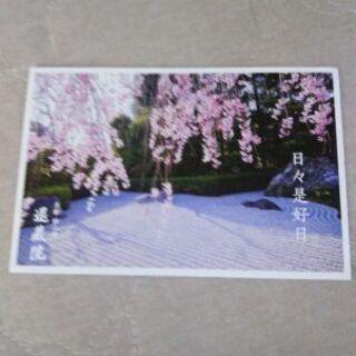 ポストカード(京都妙心寺退蔵院)