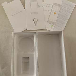 残り 3箱 iPhone7空箱 1箱100円(黒.ピンク.ゴールド)の画像