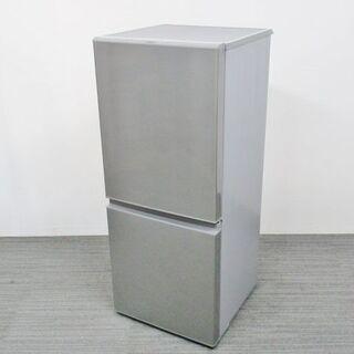 【ネット決済・配送可】AQUA 126L 2ドア冷蔵庫 AQR-...