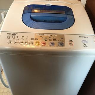 無料!洗濯機差し上げます!