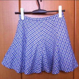 【ネット決済】【Mサイズ】ミニスカート フレアー チェック B'...