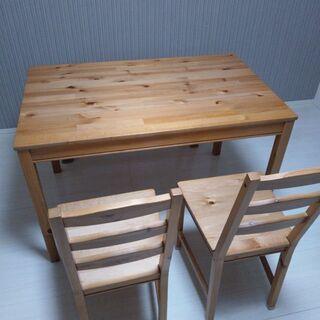 ~3/20希望 !!IKEAダイニング4点セット!!