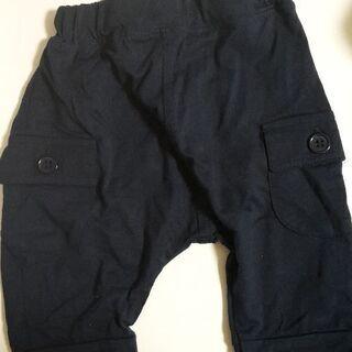 新品未使用 ズボン ネイビー 夏用 90cm 子供服