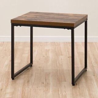 サイドテーブル ステイン5055 ミドルブラウン ダメージ…