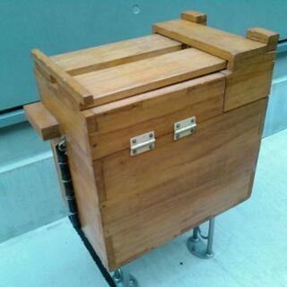 釣具収納箱 木製 - 名古屋市