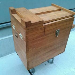 釣具収納箱 木製