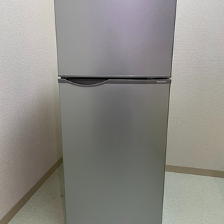 【ネット決済・配送可】冷蔵庫 SHARP SJ-H12B