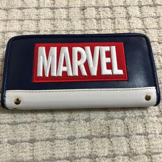新品‼️ロゴ 長財布 「MARVEL」 長財布 ネイビー✖️ホワイト