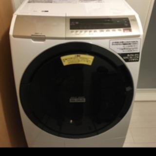 中古 洗濯乾燥機  HITACHI BD-SV110EL(W)