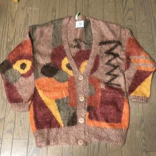 ざっくり編みカーディガン