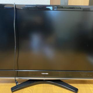 東芝REGZA37型テレビ 差し上げます!の画像