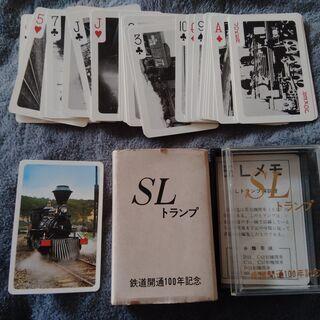 昭和 レトロ SL トランプ 鉄道 開通 100年 記念 197...