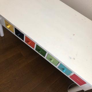 【ネット決済】値下げしました!!引き出し付きテーブル