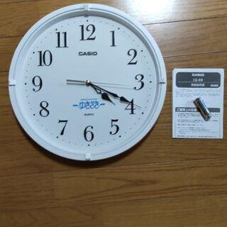 壁掛け時計 カシオ IQ-88-7JF 未使用品