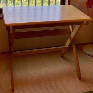 富士貿易 おりたたみテーブル W80✖️D48✖️H67cm  ...