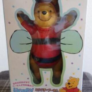 【値下げ】プーさんのおもちゃ honey bee pooh