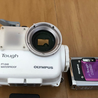 OLYMPUS ミュー tough 6020  ハウジングセット