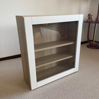 [値下げ] 中古美品 イケア ベストー IKEA(ガラス扉…