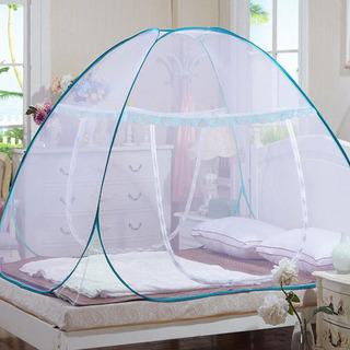 【未使用】 ワンタッチ蚊帳 折りたたみ式ネットテント