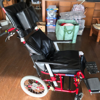 【ネット決済・配送可】リクライニング車椅子 カワムラ KAWAM...