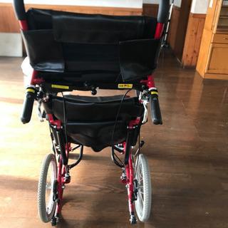 リクライニング車椅子 カワムラ KAWAMURA KPF16-40N − 福岡県