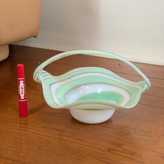 ガラス カゴ 器 小物入れ インテリア