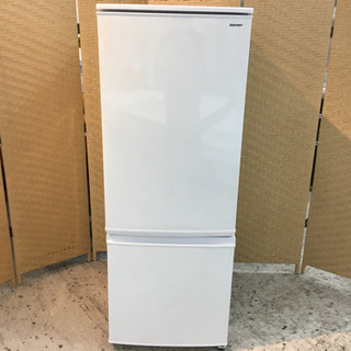 【愛品館江戸川店】SHARP167リットル 2ドア冷凍冷蔵…