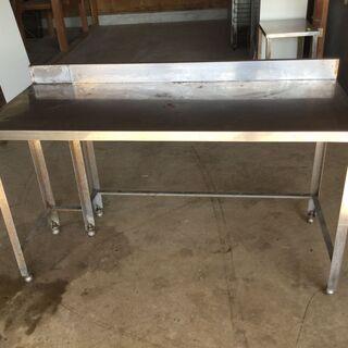 業務用 ステンレス作業台 調理台 厨房 ガード付き H90…