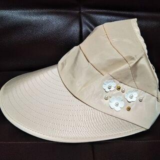 サンバイザータイプの帽子(新品)