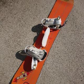 【お早めに!】SALOMONスノーボード(女性用)