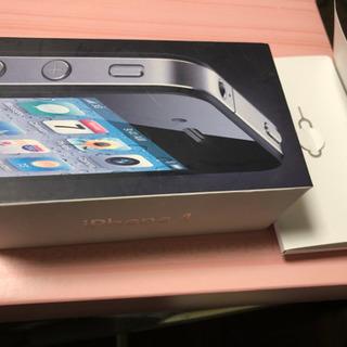 携帯iPhone4の箱とピン