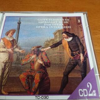 クラシックCD オペラからのバレエ音楽 オペラ間奏曲集