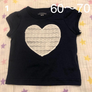 1 新品 60〜70cm Tシャツ 半袖