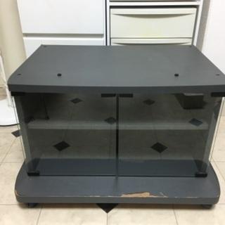 テレビ台 ブラック 71x53x43cm