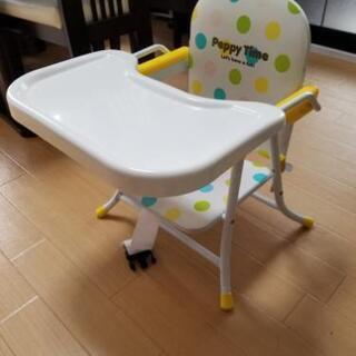 折り畳み可能 テーブル付き ローチェア